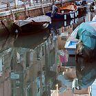 Venice reflections by Vicki Moritz