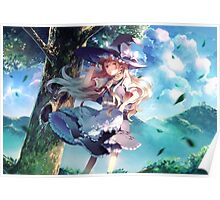 Anime Witch Girl Poster