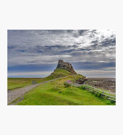 Lindisfarne Castle Photographic Print