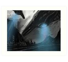 UFO MOFO Art Print