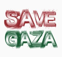 SAVE GAZA by 2E1K