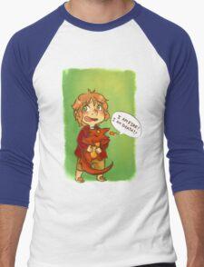 Hobbit: I Am Fire! I Am Death! Men's Baseball ¾ T-Shirt
