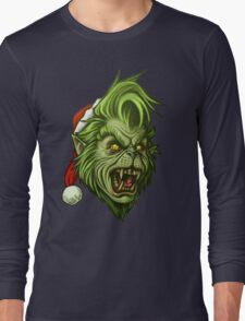 The WereGrinch! Long Sleeve T-Shirt