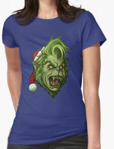 The WereGrinch! Womens Fitted T-Shirt