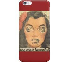 The Most Beautiful - Collage iPhone Case/Skin