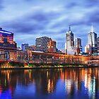 Melbourne From Southbank by JimmyAmerica