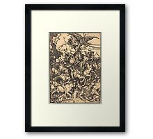 Albrecht Dürer or Durer The Four Horsemen Framed Print