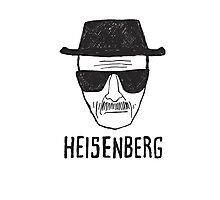HEISENBERG - BREAKING BAD - WALTER WHITE  Photographic Print