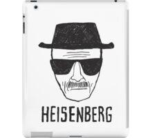 HEISENBERG - BREAKING BAD - WALTER WHITE  iPad Case/Skin