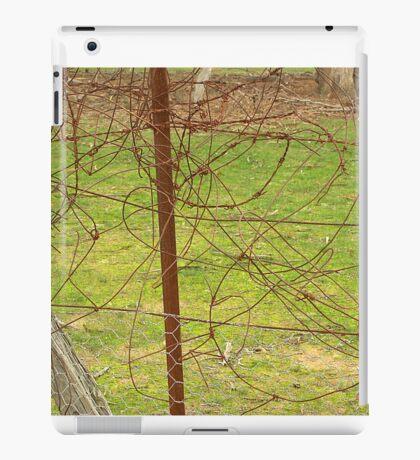 Tangled wire iPad Case/Skin