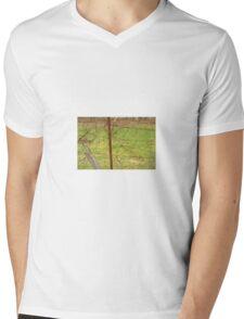 Tangled wire Mens V-Neck T-Shirt