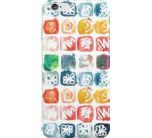 Watercolor seamless pattern. Abstract shapes. iPhone Case/Skin