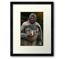 Medieval Knight Framed Print