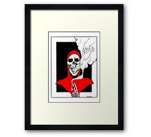 Smoking Framed Print