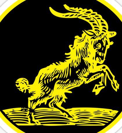 666 Goat - Black Phillip Sticker