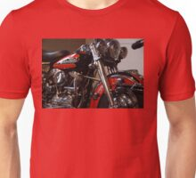 The motorcycle as art: Harley - Davidson FLH (1958) Unisex T-Shirt