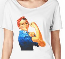 Rosie the Riveter  Women's Relaxed Fit T-Shirt