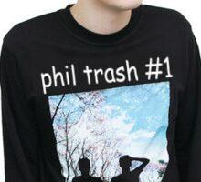 """""""Phil Trash #1"""" Sticker Sticker"""