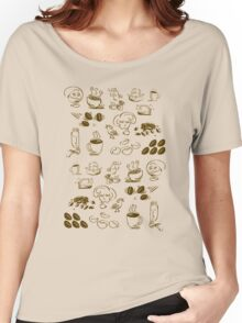Coffee Coffee Coffee Women's Relaxed Fit T-Shirt