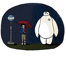 My Neighbor Baymax by jasmine16