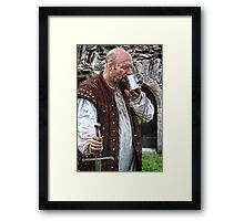 A Cold Beer Framed Print