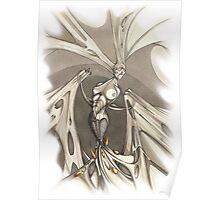 Gothic Demon Asphyxiation  Poster