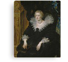 Anne of Austria Canvas Print