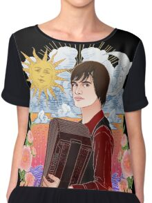 """""""Things are shaping up to be pretty odd""""  Chiffon Top"""