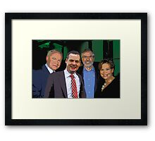 Martin, Gerry, Pearse, Mary  Framed Print