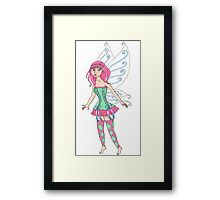 Anime Fairy Framed Print
