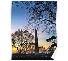 Washington D.C. (Washington Monument) at Sunset Poster