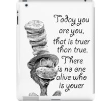 To be You iPad Case/Skin
