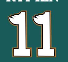 #11 Jersey Sticker