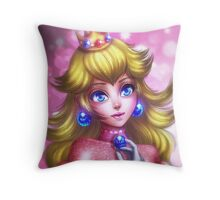 Princess Peach Throw Pillow