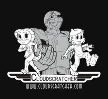 Cloudscratcher - White by Cody Baier