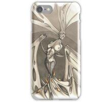 Gothic Demon Asphyxiation  iPhone Case/Skin
