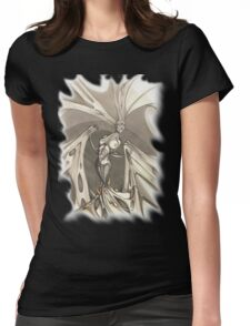 Gothic Demon Asphyxiation  Womens Fitted T-Shirt