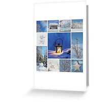 Romantic Winter Dream Greeting Card
