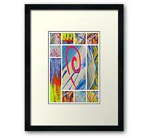 Heaven on Art Framed Print