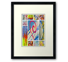 Heaven on Art Framed Print