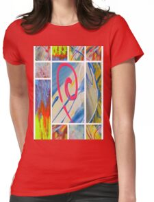 Heaven on Art Womens Fitted T-Shirt