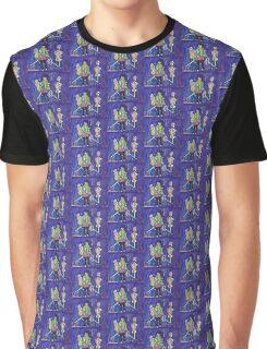 De Los Muertos Zombies Graphic T-Shirt
