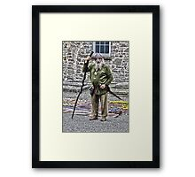 Irish celt  Framed Print