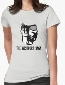 Westport Logo with Text Womens Fitted T-Shirt