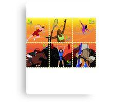 Rio Olympics 2016 Canvas Print
