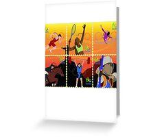 Rio Olympics 2016 Greeting Card