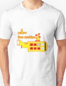 YELLOW TIME MACHINE PILLOW  Unisex T-Shirt