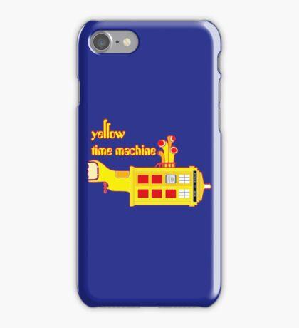 YELLOW TIME MACHINE PILLOW  iPhone Case/Skin
