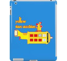YELLOW TIME MACHINE PILLOW  iPad Case/Skin