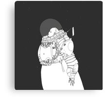 Space Samurai  Canvas Print